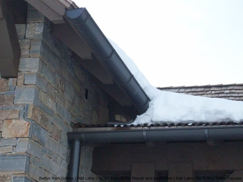 Salt Lake City gutter repair and installation project 1