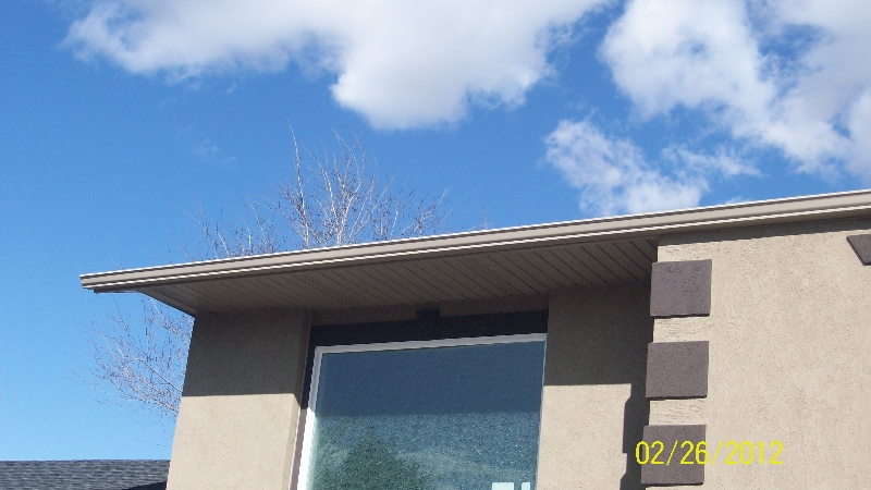Salt Lake City gutter repair and installation project 6